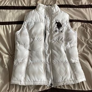 US Polo Winter Vest Woman Small